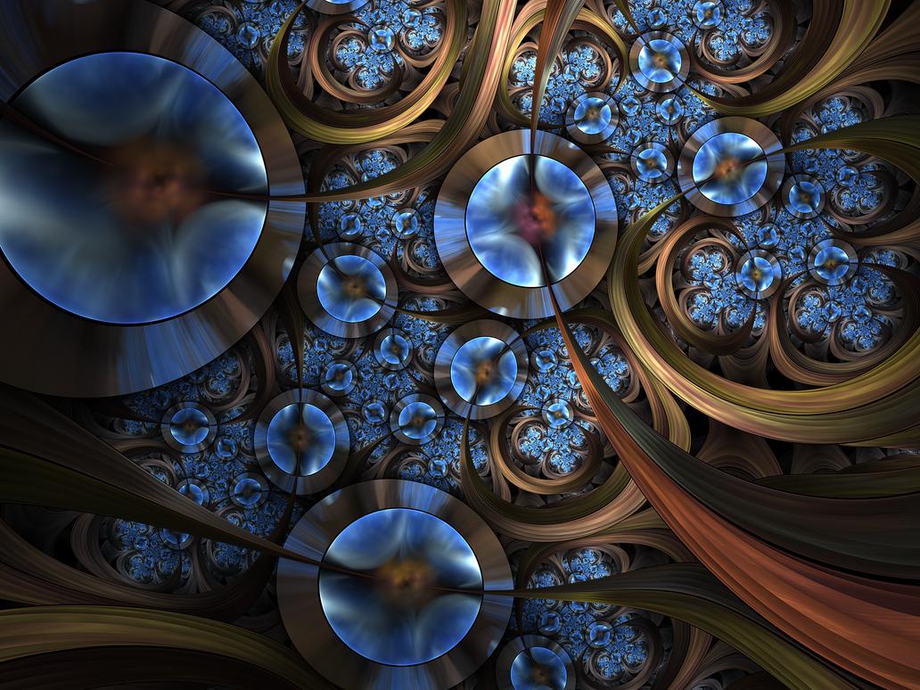 Blue Gems by tatasz