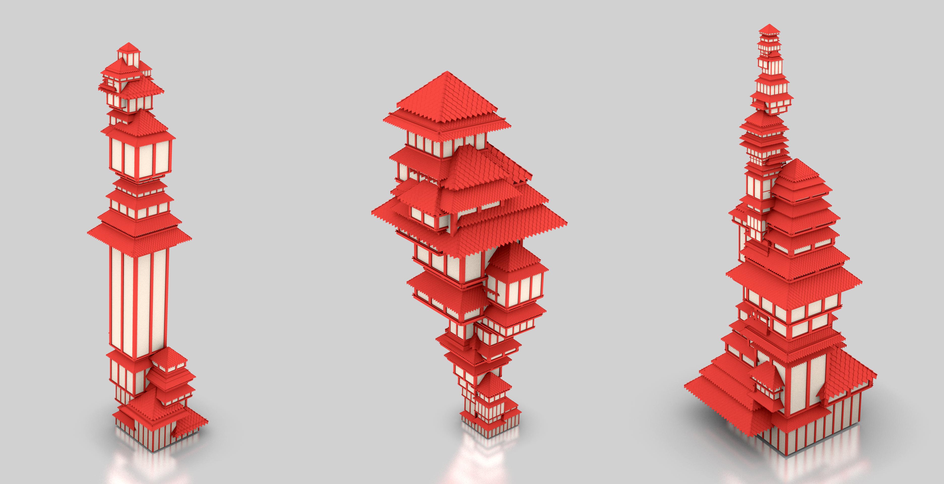 Houses sample by tatasz