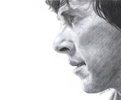 Sketch: Sherlock by IslandWriter