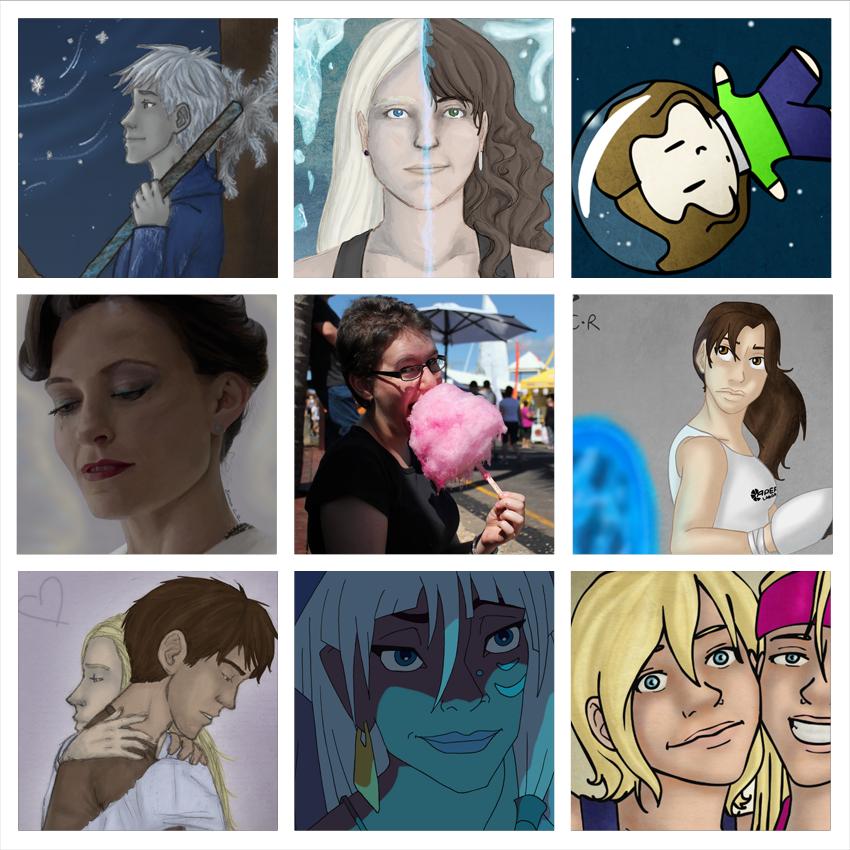 Art vs Artist by IslandWriter