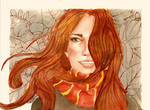 Autumn Lily  by Scarlett-Winter