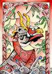 Stained Glass: King of Red Lions