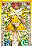 Stained Glass: Triforce