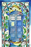 Stained Glass: Tardis