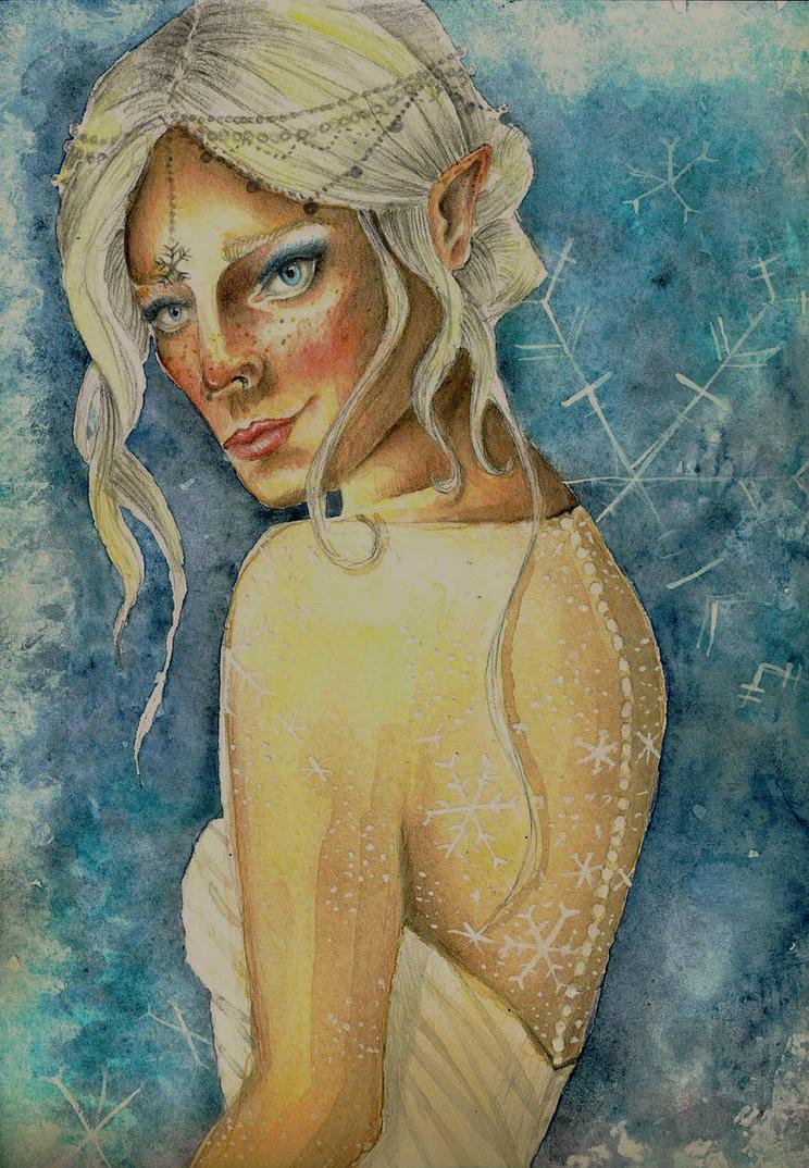 Snowflake by Scarlett-Winter