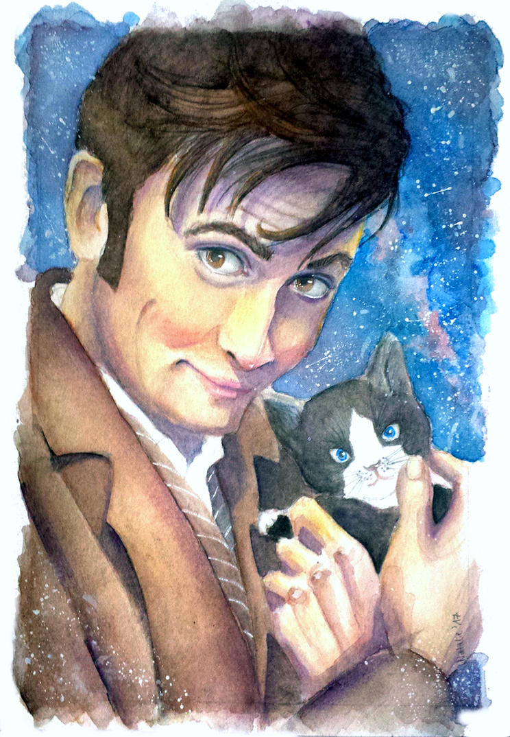 The Doctor and the Kitten by Scarlett-Winter