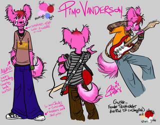 Pimo Vanderson Character Sheet
