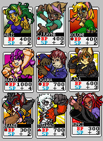furry fighter cards