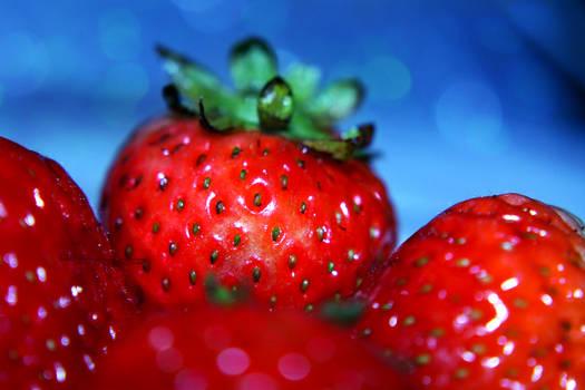 Strawberries by Aerith-sama