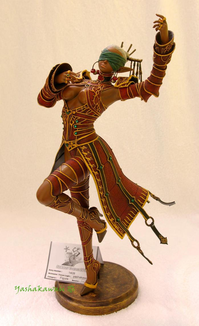 Dark Saint 1 - Model Kit by yashakawaii