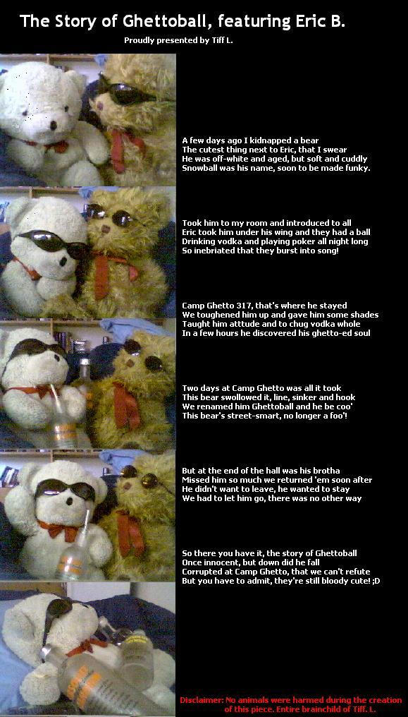 The Story of Ghettoball by woozster