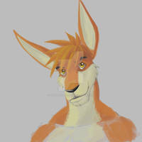 Quick Bust Painting: Kris Roo