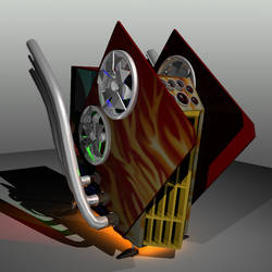 Pimped Out Gaming PC by sythis