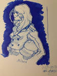 Mitsuru-persona 3 by ansem-the-dead