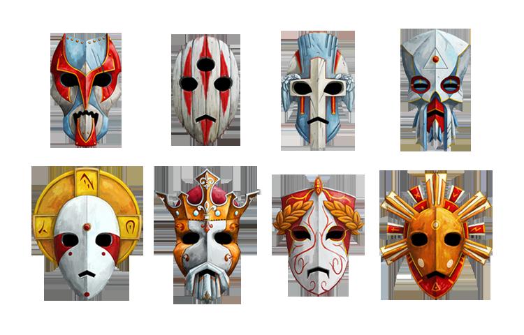 Renders divers Masks_of_gods_by_masacrar-d5r101r