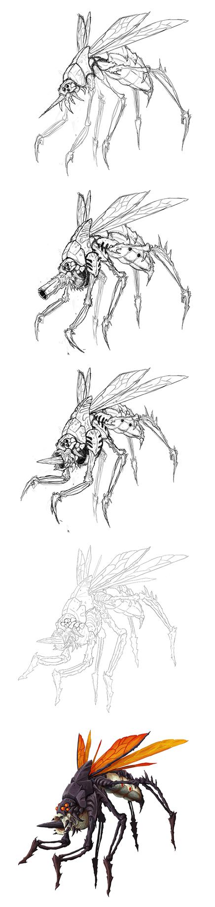 mosquito by masacrar