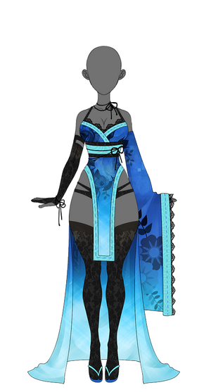 OUTFIT: Kimono 4 (AUCTION: Closed)