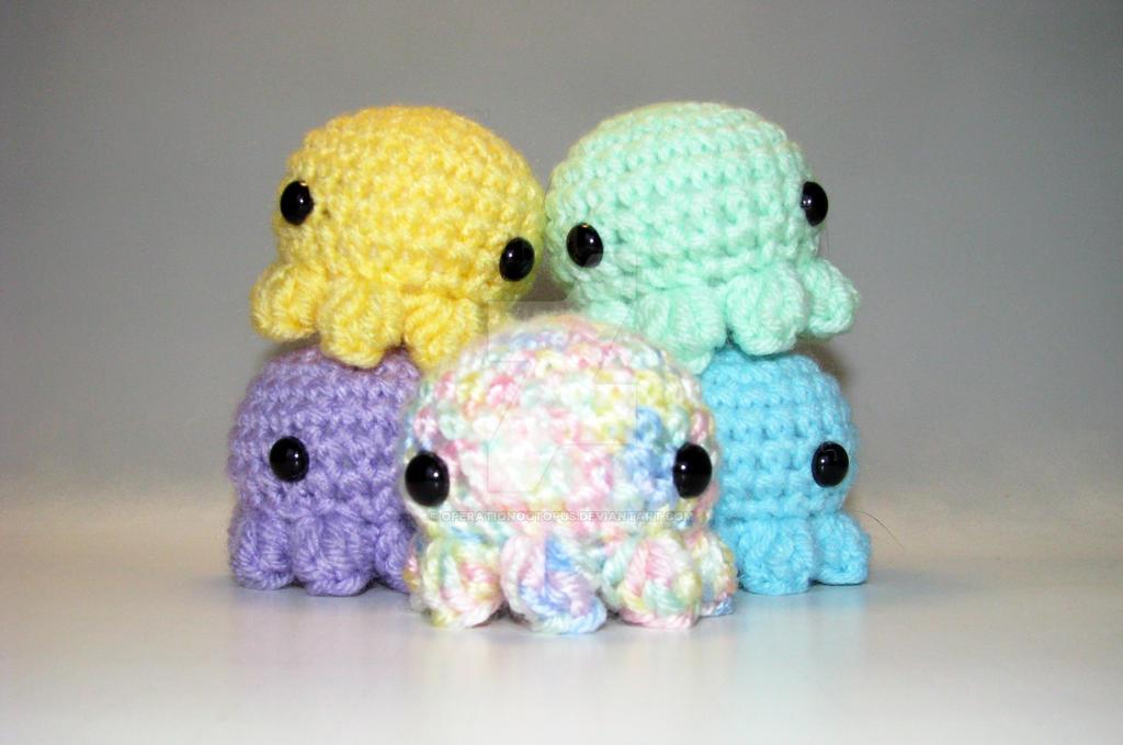 Amigurumi Octopus Tutorial : Amigurumi Octopus Craftbnb
