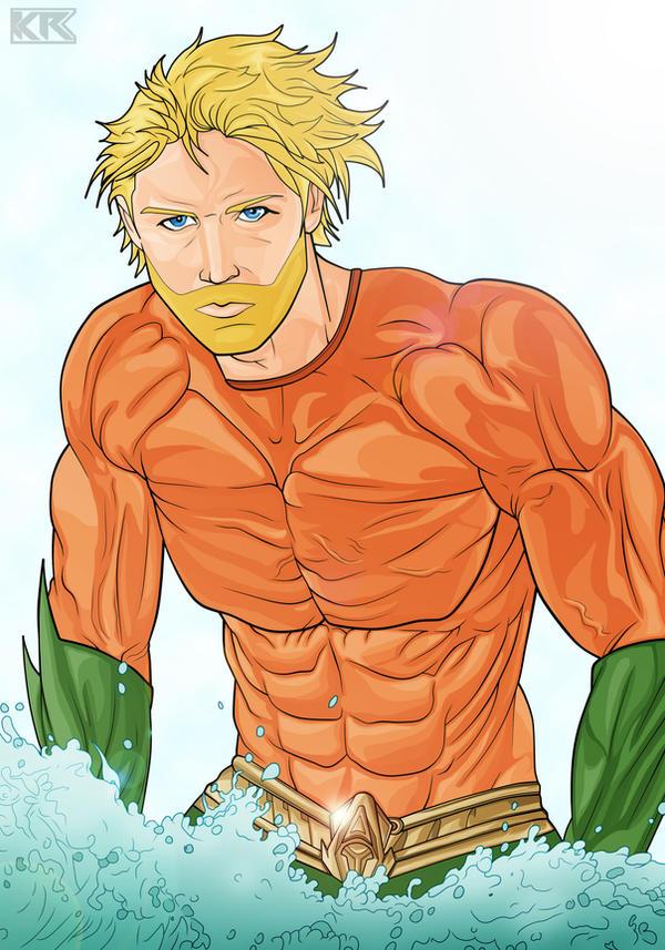 Aquaman by Mercalicious