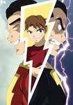 Shazam! Captain Marvel Anime by KxngKR