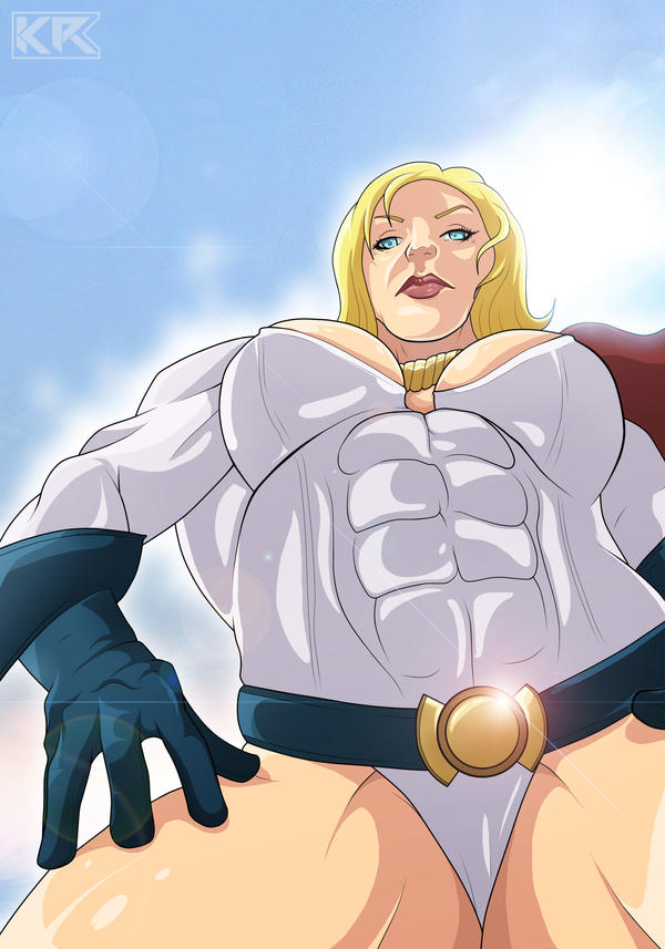 Power Girl by Mercalicious