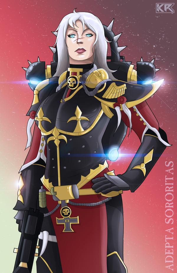 Adepta Sororitas by Mercalicious