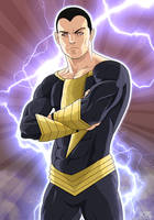 Black Adam by Mercalicious