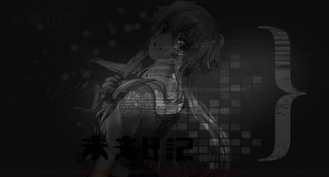 Gasai Yuno Wallpaper by PaoTutoriales