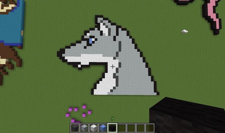 Minecraft Dog Cat