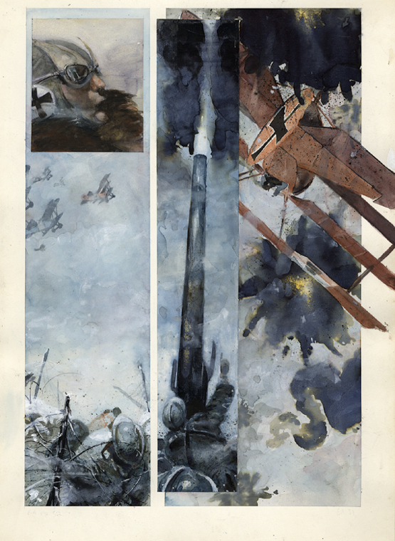 Enemy Ace: War Idyll page by George-Pratt