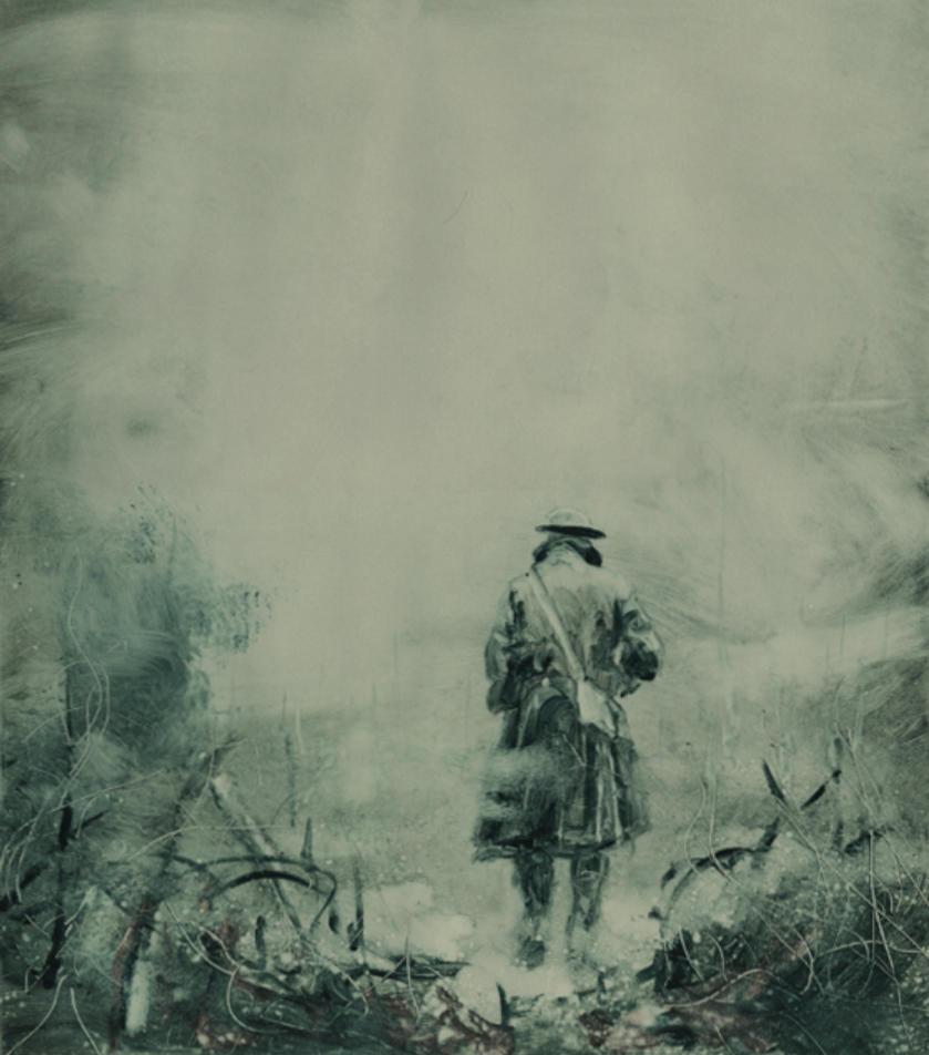 Enemy Ace: War Idyll back cover by George-Pratt