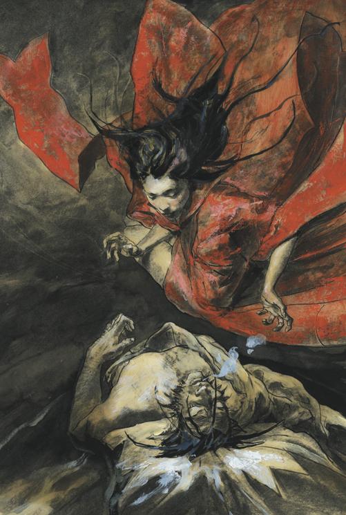 Wolverine and Mariko from Netsuke by George-Pratt