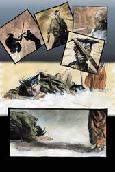 Wolverine: Netsuke page