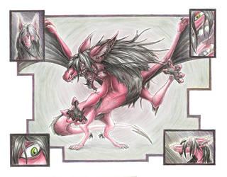 Lord Pyro -- pearlzu by draekards