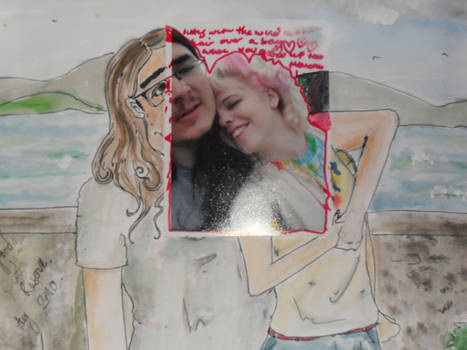 Scrap book page one