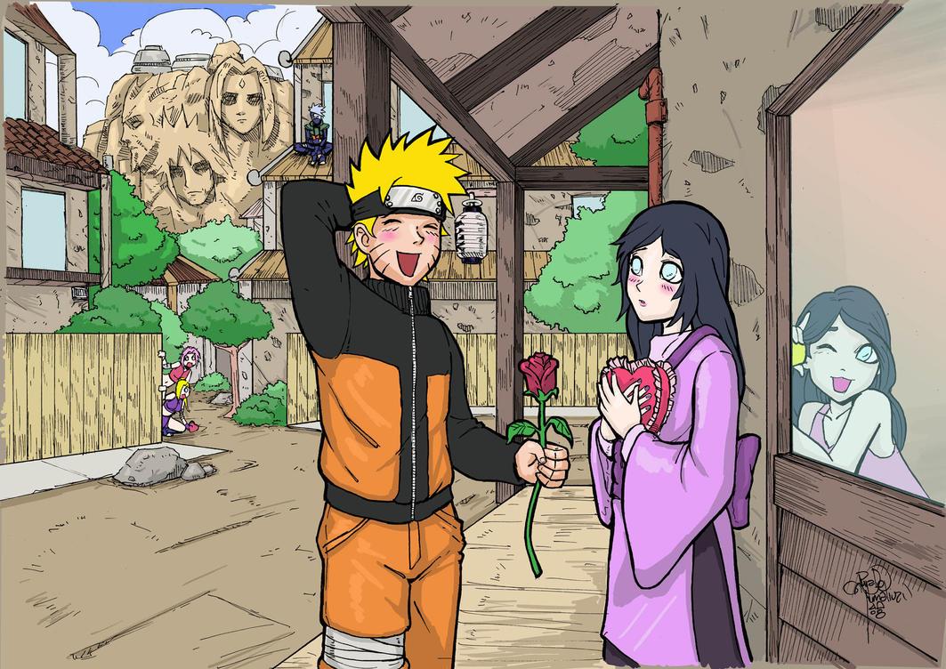 Naruto Hinata Valentine 2008 by sykoeent