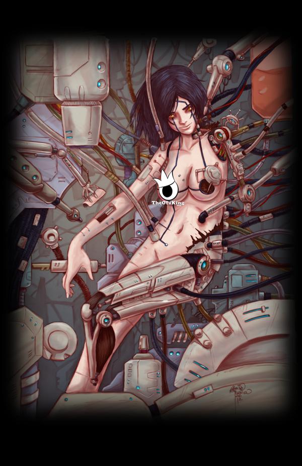 Battle Angel Alita by sykoeent