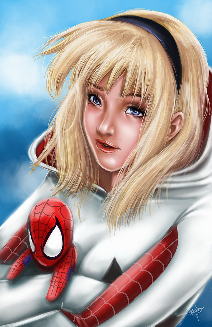 Spider-Gwen by sykoeent