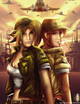 Metal Slug - Eri and Fio
