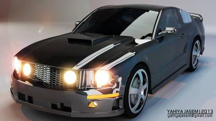 Ford Mustang - Studio Lightning - Camera 02