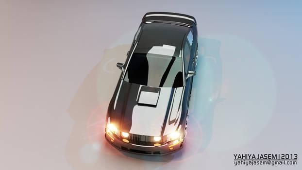 Ford Mustang - Studio Lightning - Camera 03