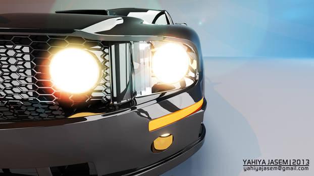 Ford Mustang - Studio Lightning - Camera 07