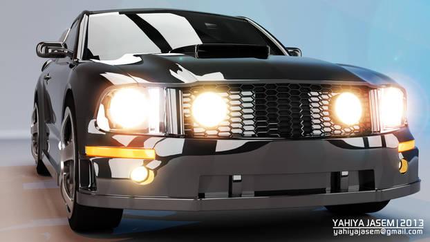 Ford Mustang - Studio Lightning - Camera 08