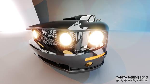 Ford Mustang - Studio Lightning - Camera 14