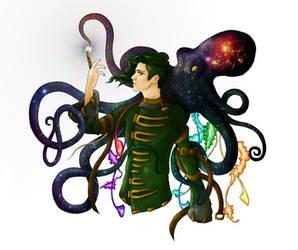 Cosmic Jelly Octopus