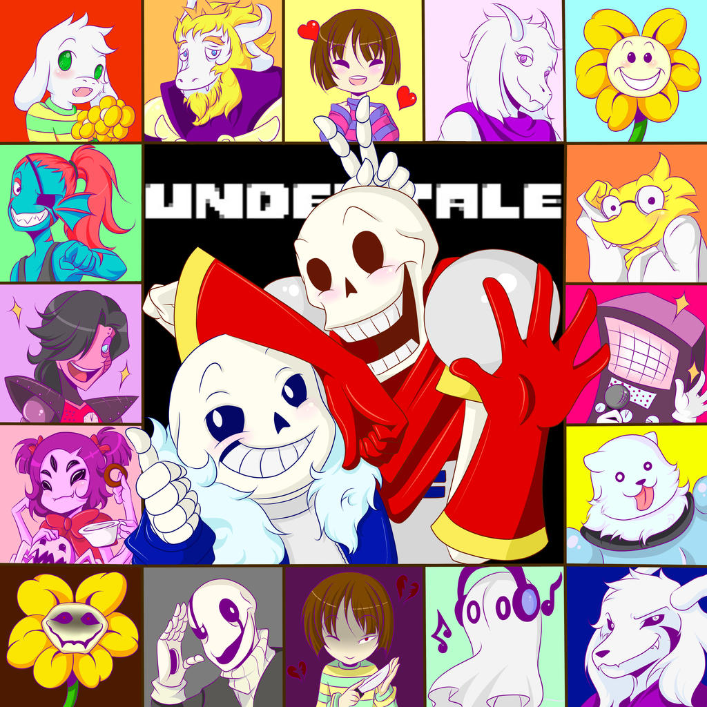 undertale_group_by_exaggeratedreality-d9
