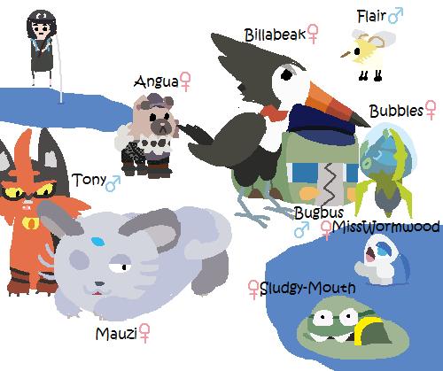 Pokemon Moon Comic 49: Team Update 8 by DuthOlec