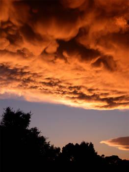 Stormy November Sunset