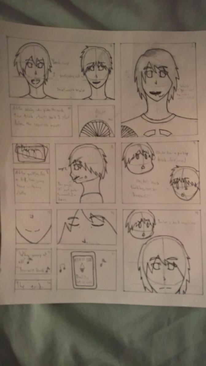Magic -Storyboard/Rough Sketch by avatarcreator12