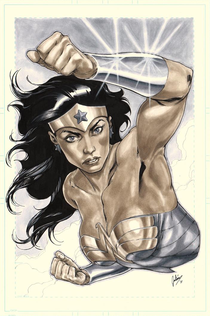 Wonder Woman by julianlopezart